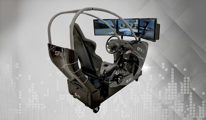 EF-X2 PRM / Car Driving Simulator for Persons Reduced Mobility